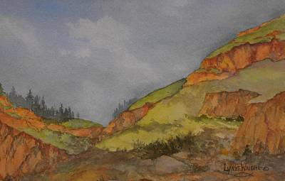 Painting - Imnaha Bluffs by Lynne Wright