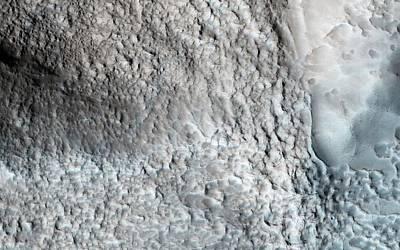 Impact Photograph - Impact Crater On Mars by Nasa/jpl-caltech/univ. Of Arizona
