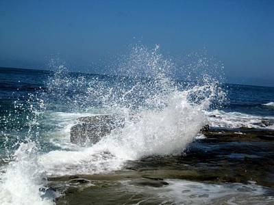 Photograph - Impact Of The Sea by Melissa McCrann