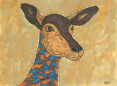 Impala Antelope Art Print