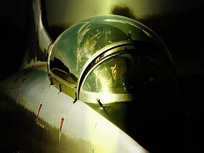 South African Air Force Photograph - Impala Cockpit by Paul Job