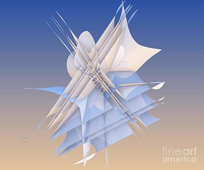 Digital Digital Art - Impaled Two by Melissa Messick