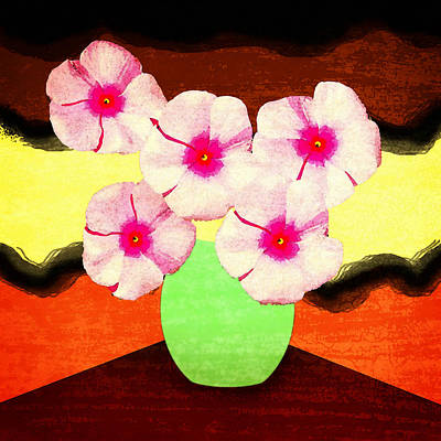 Digital Art - Impatiens by Timothy Bulone