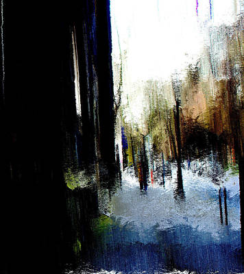 Art Print featuring the mixed media Impending Gloom by Terence Morrissey