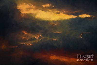 Painting - Impending Storm by Ken Frischkorn