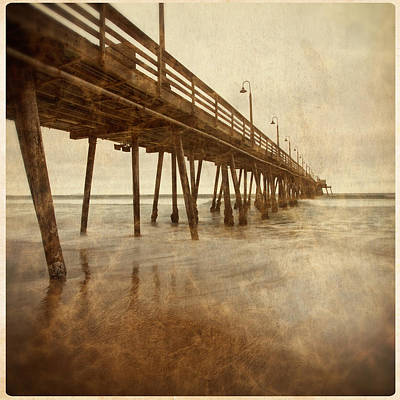 Photograph - Imperial Beach Pier 1 by Ryan Weddle