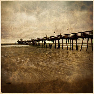 Photograph - Imperial Beach Pier 2 by Ryan Weddle
