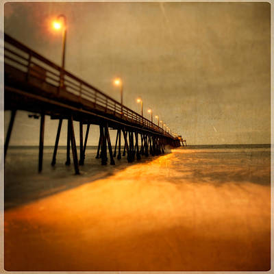 Photograph - Imperial Beach Pier 3 by Ryan Weddle