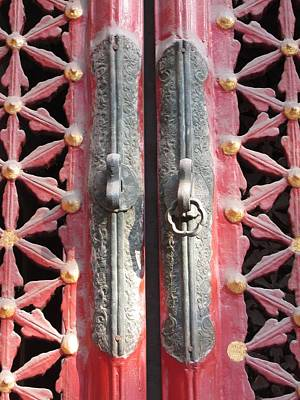 Photograph - Imperial Door Detail by Alfred Ng