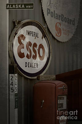 Photograph - Imperial Esso by Inge Riis McDonald