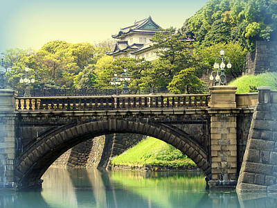 Photograph - Imperial Palace Grounds Tokyo by John Potts