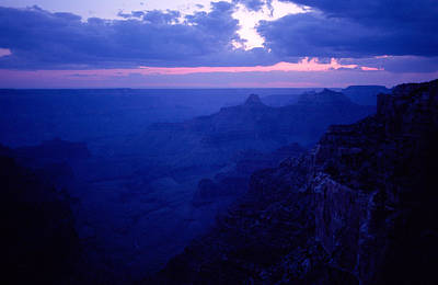 Point Imperial Dusk At The Grand Canyon Original