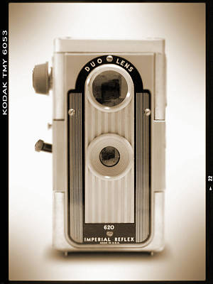 Vintage Camera Wall Art - Photograph - Imperial Reflex Camera by Mike McGlothlen