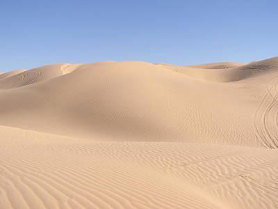 Imperial Sand Dunes Art Print