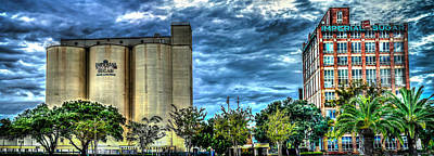 Photograph - Imperial Sugar Mill Panoramic Hdr by David Morefield