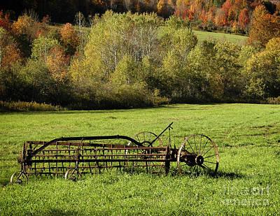 Photograph - Implement Landscape by Tom Brickhouse