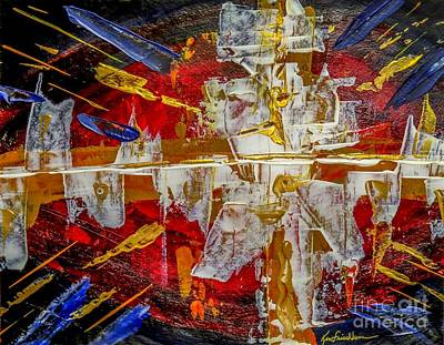 Painting - Implosion by Ken Frischkorn
