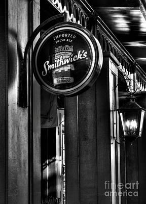 Photograph - Imported Irish Ale by Mel Steinhauer