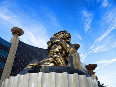 Photograph - Imposing In Las Vegas by Brenda Kean