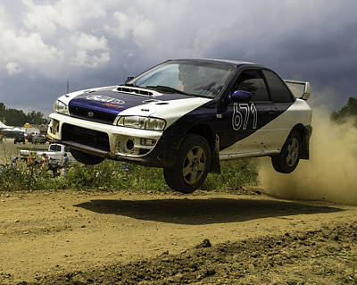 Photograph - Impreza In Flight by Jason Massey