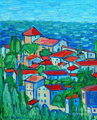 Impression From Mallorca Original by Ana Maria Edulescu