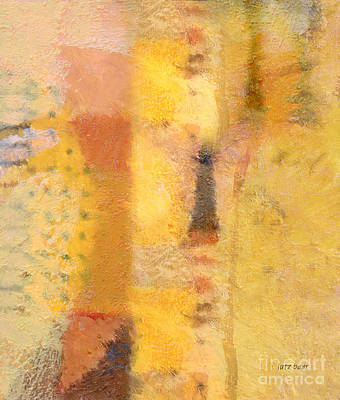 Abstract Impression Painting - Impression IIi by Lutz Baar