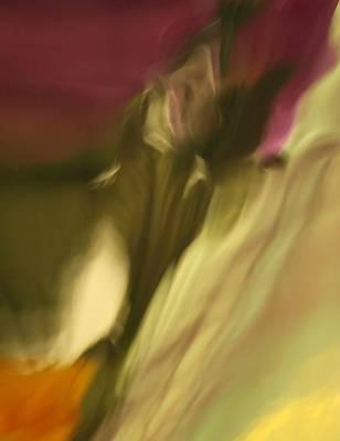 Impression Of A Rose Art Print
