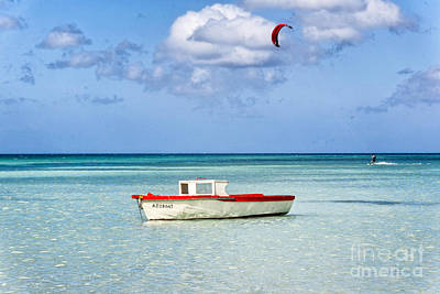 Netherland Photograph - Impression Of Aruba  by George Oze