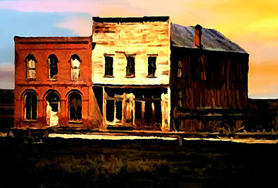 Impression Of Sunrise Bodie California  Original