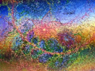 Impressionist Dreams 1 Art Print by Casey Kotas
