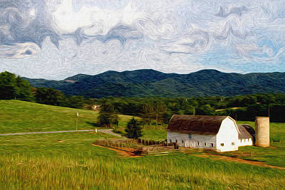 Impressionist Farming Art Print by John Haldane