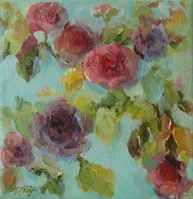 Impressionist Floral  Art Print