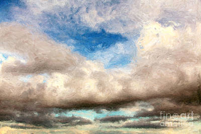 Impressionist Landscape Paintings Art Print by Boon Mee