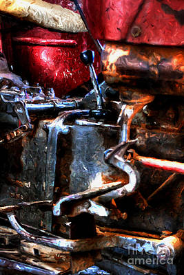 Photograph - Rotten Old Farm Tractor by Doc Braham