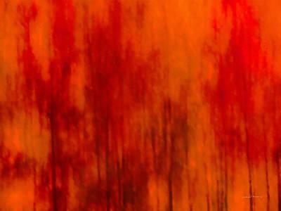 Mixed Media - Impressionistic Autumn 2 by Leland D Howard