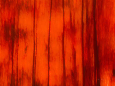 Form Mixed Media - Impressionistic Autumn 4 by Leland D Howard