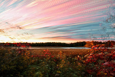 Photograph - Impressionistic Autumn by Matt Molloy