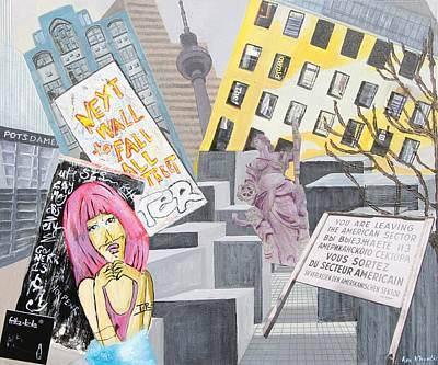 Berlin Mixed Media - Impressions Of Modern Berlin by Ann Whyntie