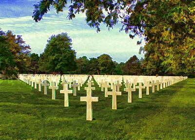 Memorial Day Mixed Media - Impressions Of Normandie by Deborah Boyd