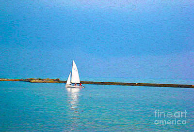 Photograph - Impressions Of Sailing by Nina Silver