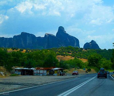 Photograph - Impressive Mountains by Alexandros Daskalakis