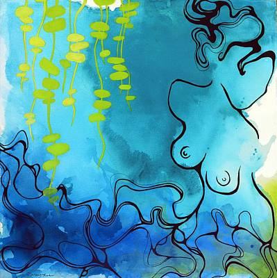Painting - Imprint by Darcy Lee Saxton