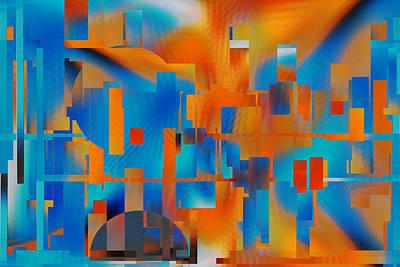 Digital Art - Imprisoned - Roy by rd Erickson