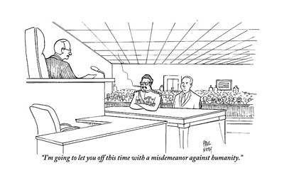 In A Courtroom Art Print
