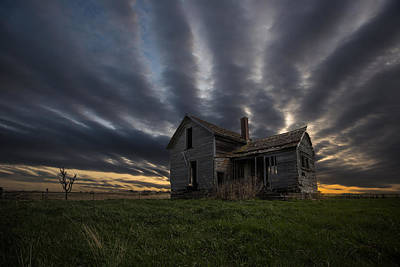 Abandoned Houses Photograph - In A Past Life by Aaron J Groen