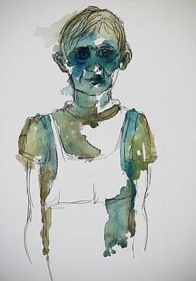 In A Trance Art Print by Tina Pitsiavas