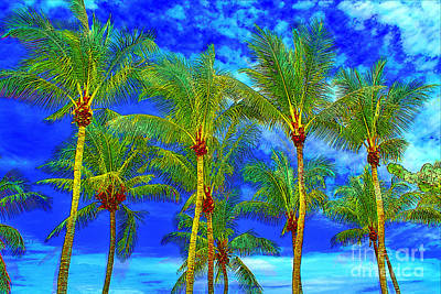 Photograph - In A World of Palms by Keri West