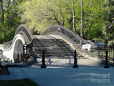 Elizabeth Park Trenton Photograph - In All Her Glory by John Ramoz