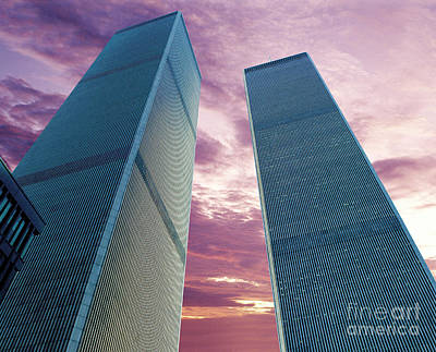 Twin Towers Nyc Photograph - In All Her Glory by Jon Neidert