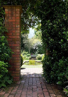 Photograph - In An English Country Garden by Guy Pettingell